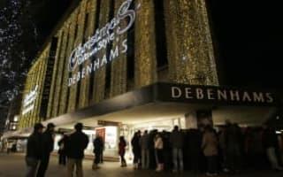 Debenhams finance boss resigns