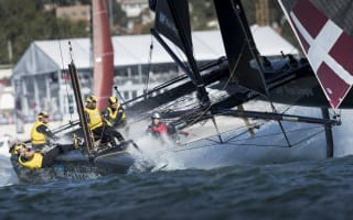 Win! A VIP catamaran ride at the Extreme Sailing Series