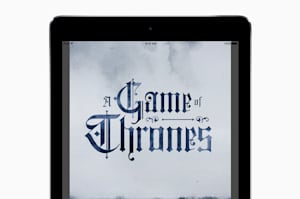 La primera edición ampliada de Game of Thrones llega en exclusiva a iBooks