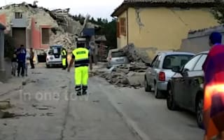 The Italy earthquake death toll has risen to at least 38