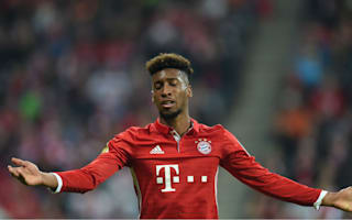 Bayern winger Coman out for two months
