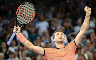 Dimitrov ends title wait in Brisbane