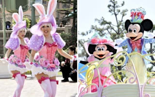 Dancers reopen Disneyland Tokyo with a bang
