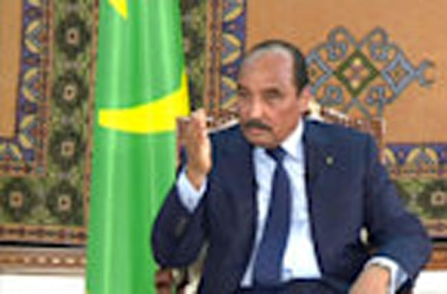 Mauritania leader calls for referendum to change constitution