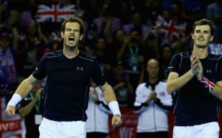 Murrays keep Great Britain alive, Croatia move ahead against France