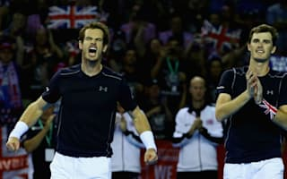 Murrays keep Great Britain alive, Croatia move ahead against France