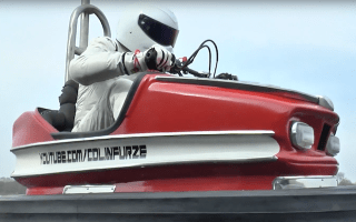 Top Gear's Stig breaks dodgem car speed record