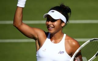 Home hope Watson ousts Eastbourne champion Cibulkova