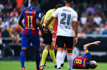 Iniesta admits 'it could have been worse' after Barcelona confirm 6-8 week absence