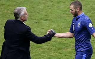 Deschamps not holding Benzema grudge