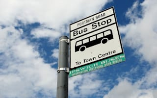 Pensioner critically ill after yobs push him off bus in Ipswich