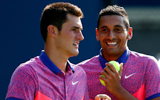 Kyrgios at a loss to explain Tomic's Davis Cup absence