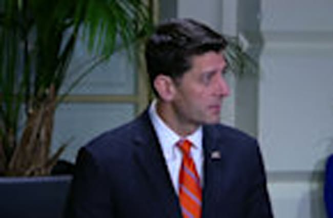 'Tomorrow we're proceeding' with Obamacare vote - Ryan
