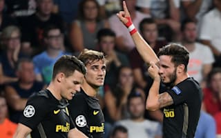 PSV 0 Atletico Madrid 1: Saul goal seals victory