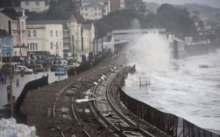 Dawlish railway line set to reopen despite clliff landslide