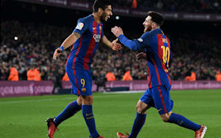'Messi is the best in history' - Suarez hails Barcelona team-mate