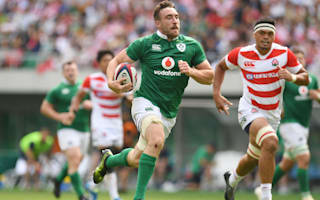 Ireland cruise to Japan win