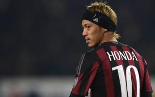 Milan can outplay Juventus - Honda
