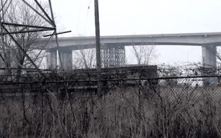 Woman dies when husband follows sat nav off disused bridge