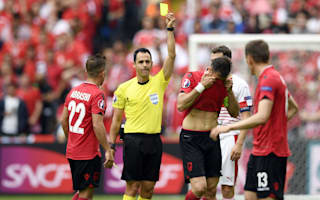 'Overwhelmed' Cana deserved red card - De Biasi