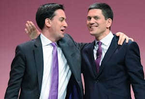 Communication breakdown for Milibands as Ed cuts off David due to bad line