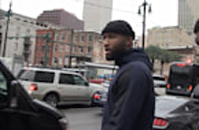 DEMARCUS COUSINS -- WOULD ALL-UK TEAM BEAT CAVS?...'F***IN' RIGHT'