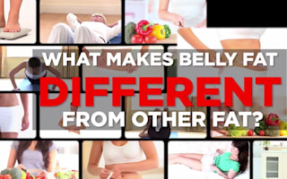Why belly fat is different to other types of body fat