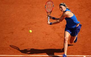 Recovering Kvitova keeps options open for Roland Garros return