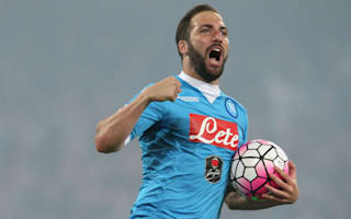 Serie A Review: Higuain breaks record as Napoli claim second, Sassuolo grab top-six finish