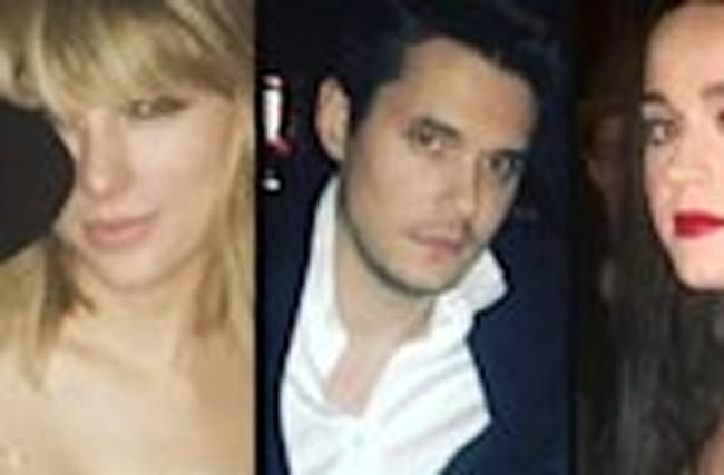 Awkward?! Taylor Swift, Katy Perry and John Mayer Attend Drake's 30th Birthday Bash -- Pics!