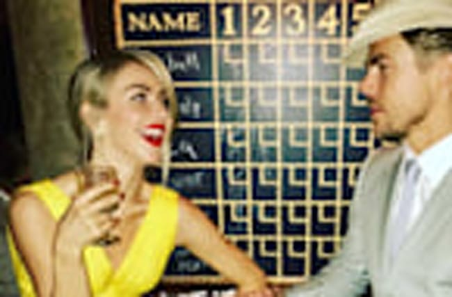 Derek and Julianne Hough Channel 'La La Land' for Nina Dobrev's Birthday Party