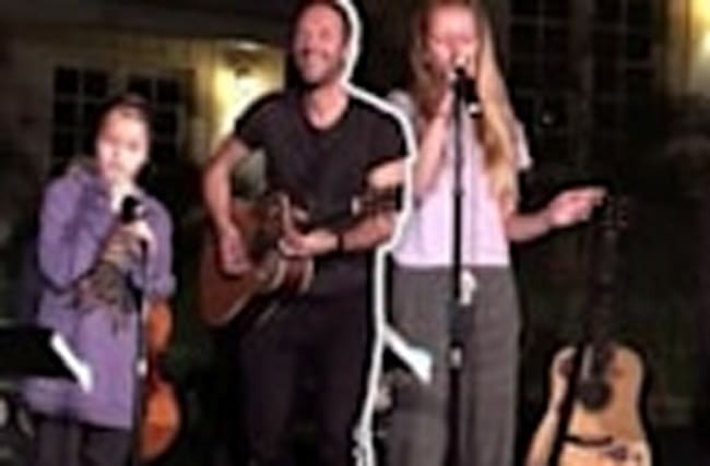 Gwyneth Paltrow and Chris Martin: Our Kids Can Sing!