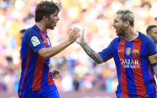 Madrid lucky to be topping LaLiga, says Barca's Sergi Roberto