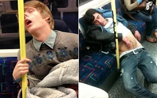 New Twitter feed shares hilarious pictures of commuters napping