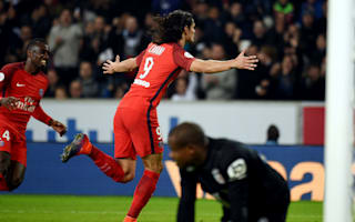 Lille 0 Paris Saint-Germain 1: Cavani strike the difference