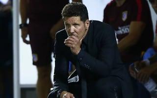 Simeone: Winless Atletico must remain calm