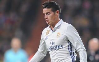 James is a key player - Zidane praises Madrid midfielder