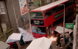 Fans angry at Eastenders' bus crash similarities to Berlin terror attack