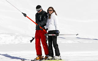 Kate and William hit snowy Switzerland for weekend break
