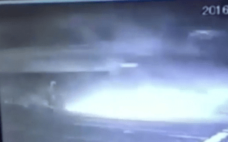 Man miraculously survives after his truck is hit by a train
