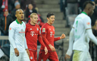 Bundesliga Review: Bayern thrash Bremen as Hoffenheim leave Wolfsburg sheepish