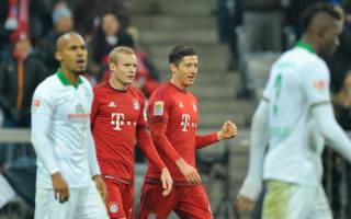 Bundesliga Review: Bayern thrash Bremen as Hoffenheim leave Wolfsburg sheepish
