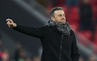 Luis Enrique praises battling Barca after narrow loss
