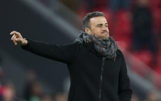 Luis Enrique praises battling Barca after narrow loss