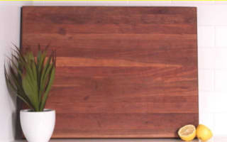 How to sanitise chopping boards