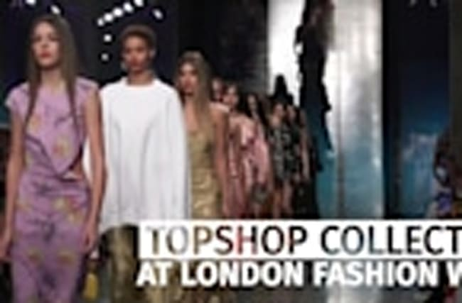 London Fashion Week: Topshop collection hits the catwalk