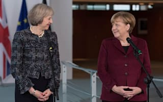 Angela Merkel's tough Brexit stance shows need for Tory election win, May to say