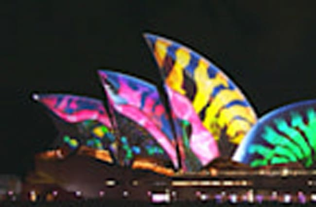 Festival of light shines on Sydney's iconic landmarks