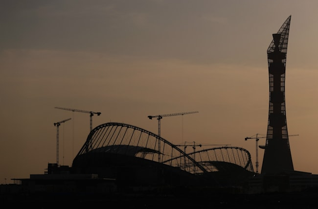 Worker dies at World Cup stadium in Qatar