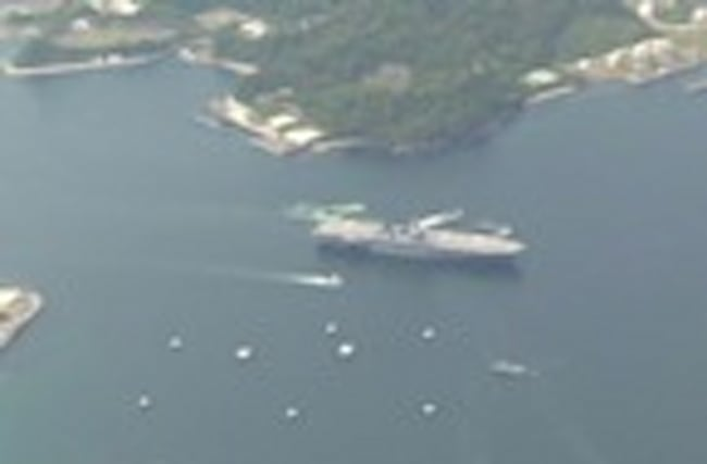 Japanese ship sets sail to protect U.S. amid N. Korea tension
